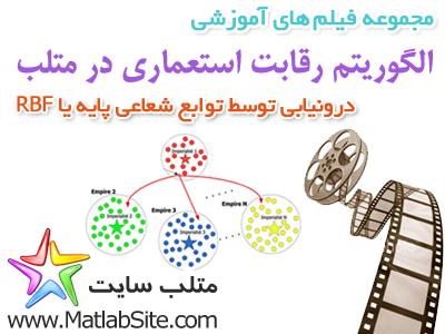 فیلم آموزشی درونیابی توابع شعاعی پایه یا RBF با الگوریتم رقابت استعماری (به زبان فارسی)