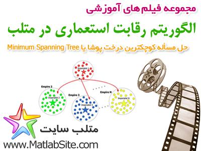 فیلم آموزشی حل مسأله کوچکترین درخت پوشا با الگوریتم رقابت استعماری (به زبان فارسی)