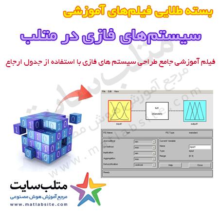 فیلم آموزشی طراحی سیستم فازی با استفاده از Look-up Table در متلب (به فارسی)