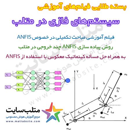 فیلم آموزشی پیاده سازی ANFIS چند خروجی در متلب به همراه حل مسائل عملی (به فارسی)