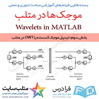 فیلم آموزشی جامع تبدیل موجک گسسته یا DWT در متلب (به زبان فارسی)