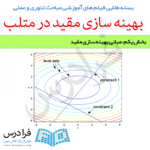فیلم آموزشی مبانی بهینه سازی مقید (به زبان فارسی)