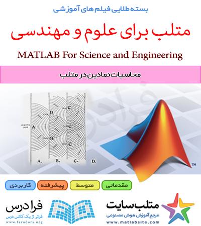 فیلم آموزشی محاسبات نمادین در متلب (به زبان فارسی)
