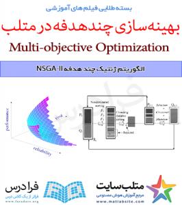 فیلم آموزشی جامع الگوریتم ژنتیک چند هدفه NSGA-II در متلب (به زبان فارسی)