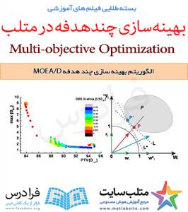 فیلم آموزشی جامع الگوریتم تکاملی چند هدفه مبتنی بر تجزیه یا MOEA/D (به زبان فارسی)