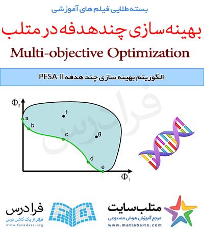 فیلم آموزشی جامع نسخه دوم الگوریتم انتخاب مبتنی بر شکل دهی پارتو یا PESA-II (به زبان فارسی)