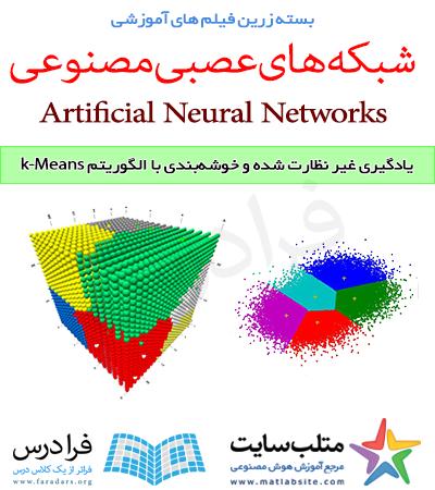 فیلم آموزشی یادگیری غیر نظارت شده و خوشه بندی با الگوریتم k-Means در متلب (به زبان فارسی)