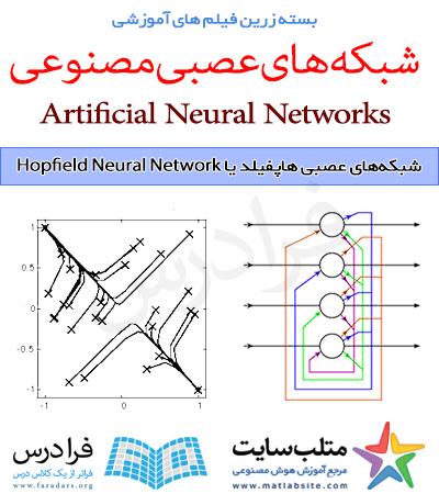 فیلم آموزشی شبکه های عصبی هاپفیلد یا Hopfield Neural Network در متلب (به زبان فارسی)