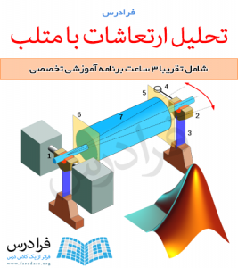 فیلم آموزشی تحلیل ارتعاشات با استفاده از نرم افزار متلب (به زبان فارسی)