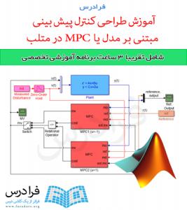 آموزش طراحی کنترل پیش بینی مبتنی بر مدل یا  MPC در متلب