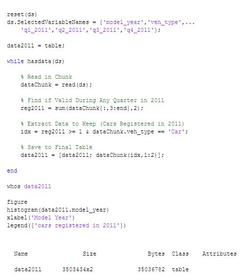 روش 2: داده را فیلتر کنید و زیرمجموعه حاصل را برای استفاده در حافظه به کار بگیرید.
