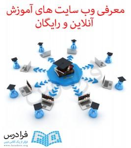 معرفی وب سایت های آموزش آنلاین و رایگان