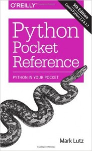 phyton pocket reference